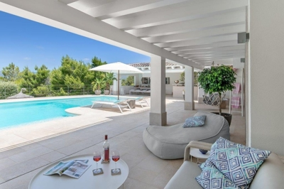 Villa by the golf course of Santa Ponsa Mallorca for sale 22