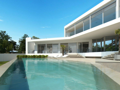 Modern new villa for sale in El Toro-Port Adriano