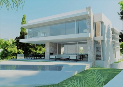 Villa for sale Port Adriano first line