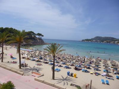 Wohnung am Strand von Paguera zu verkaufen
