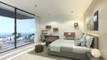Masterbedroom with terrace