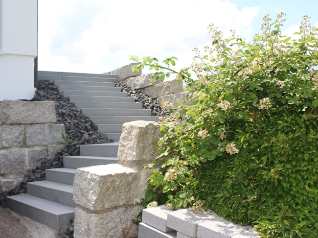 Treppe im Garten