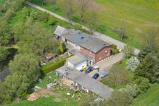 Luftbildaufnahme des Anwesens