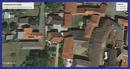 Luftbild mit Grundstückkennzeichnung