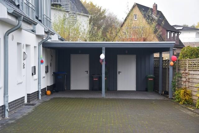 Carport + Schuppen