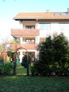 Hausansicht Balkonseite