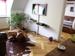 Wohnzimmer, Blick zum Schlafzimmer