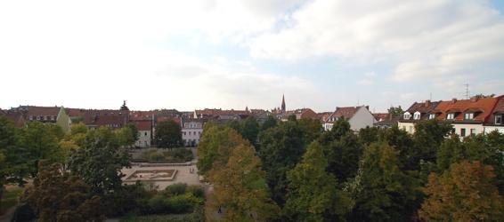 Blick auf den Jamnitzer Park