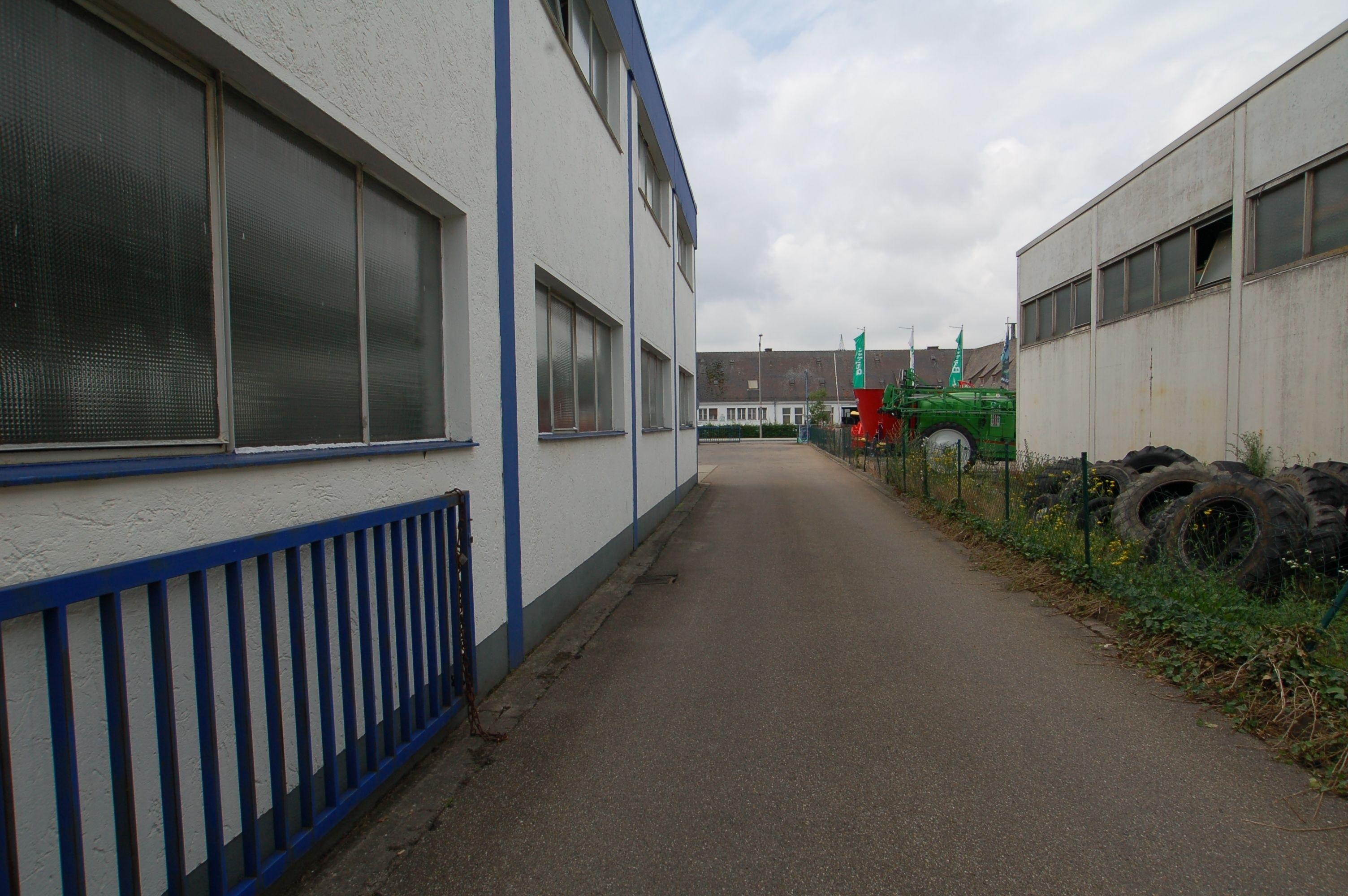 Zufahrt Gießereistraße