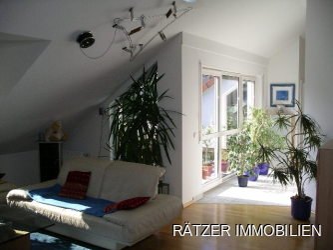 luxus Wohnen im Dachgeschoss