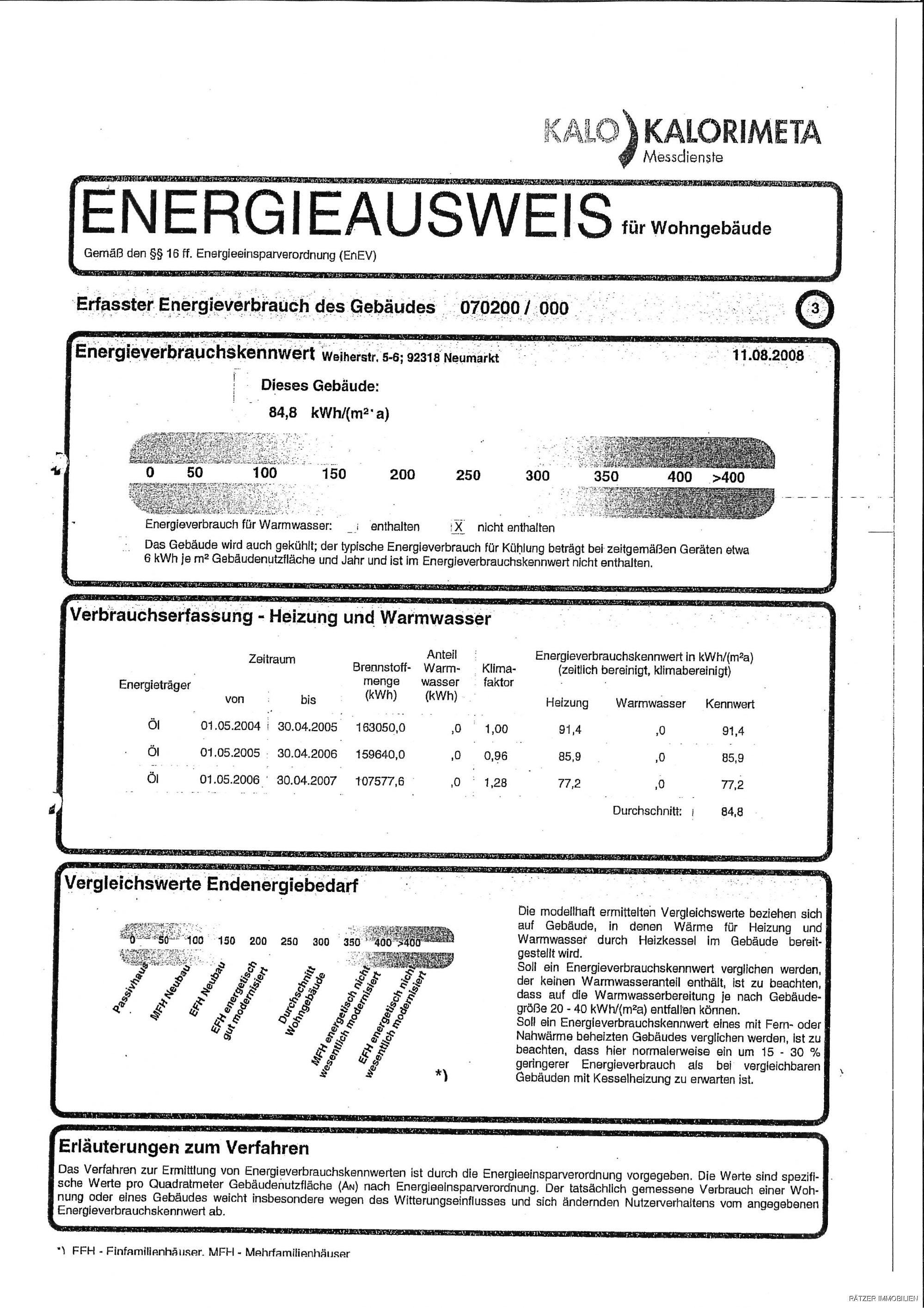 Energieausweis S. 3
