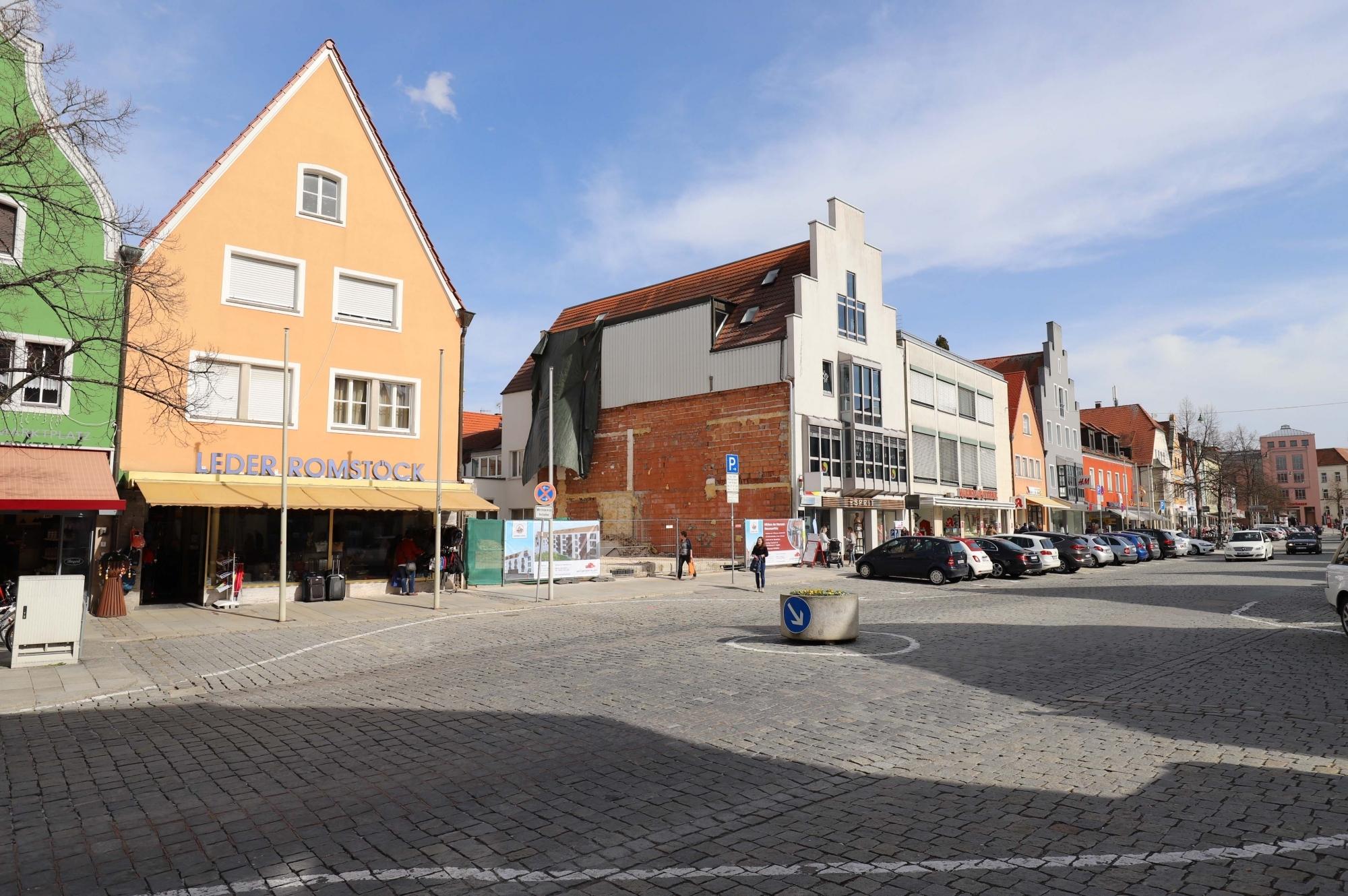 03.04.18 Blick Richtung Oberer Markt
