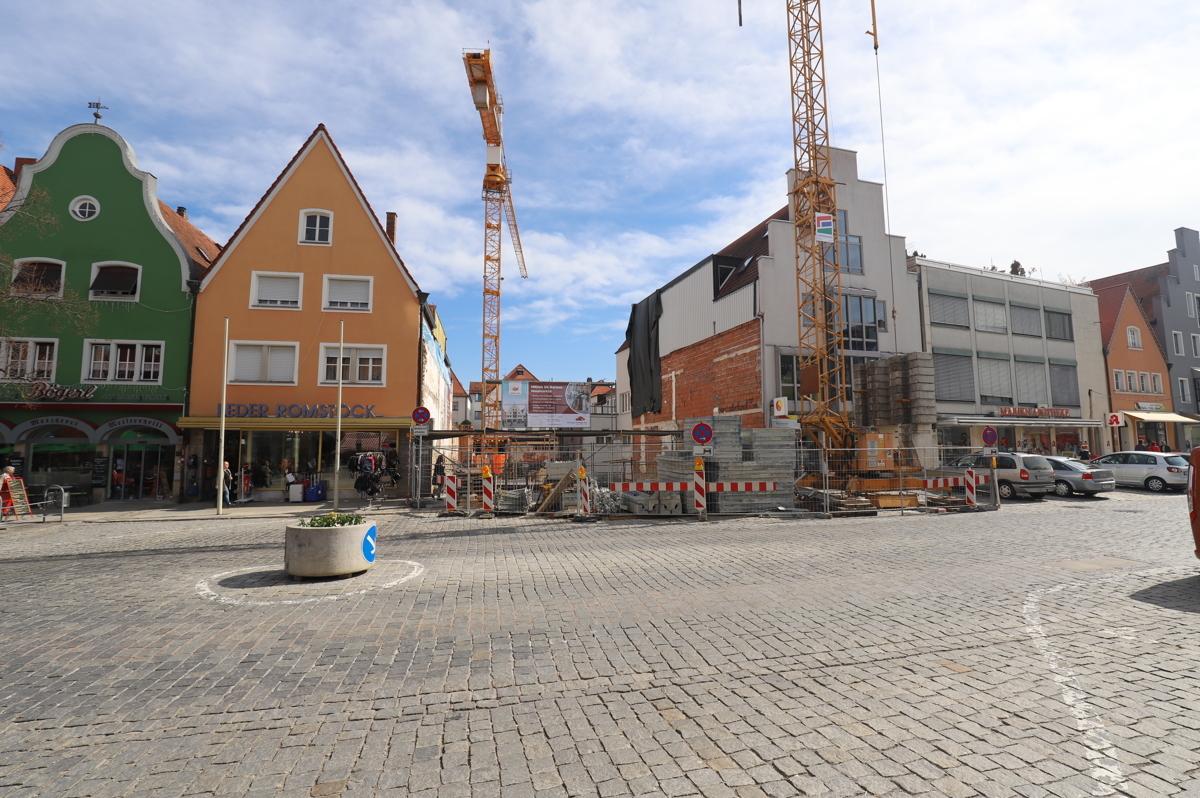 Baustelle Marktstraße