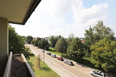 Blick auf die EFA-Straße