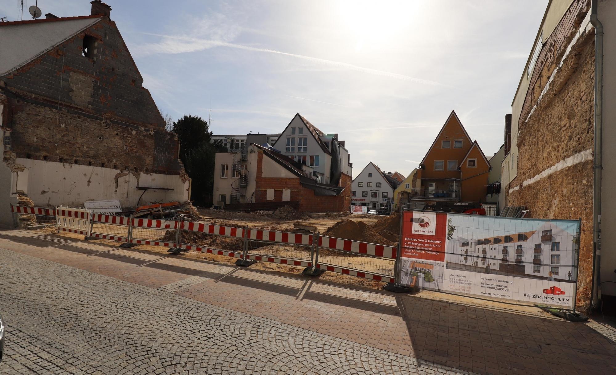 03.04.18 Blick Richtung Marktstraße
