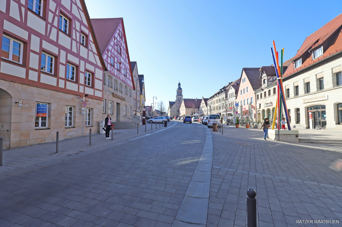 Straßenansicht Untere Marktstraße