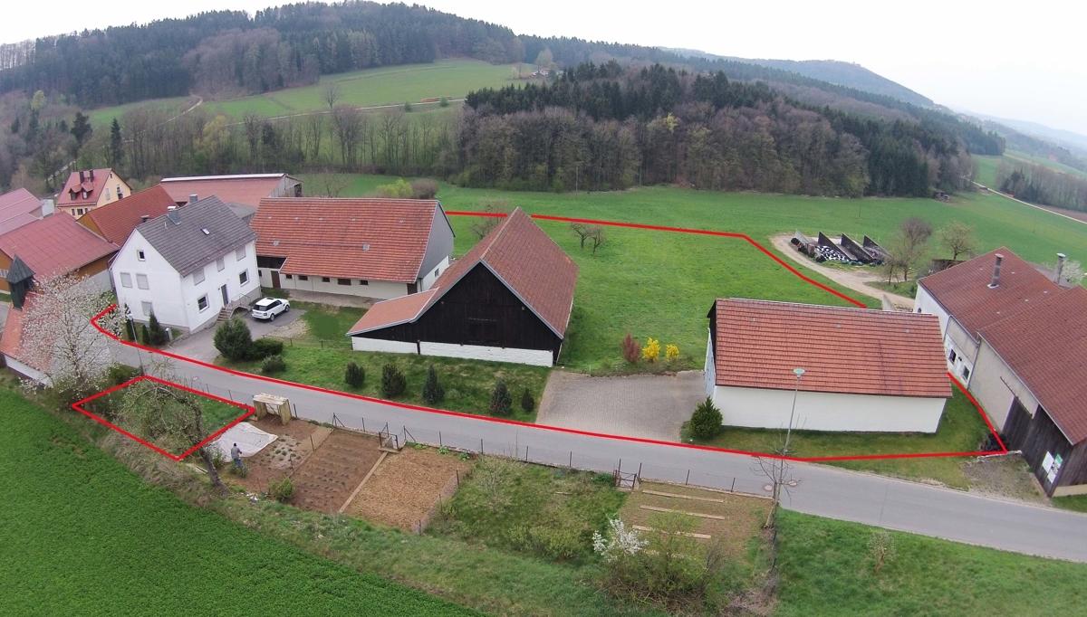 Blick nach Süden zur Wolfsteinburg