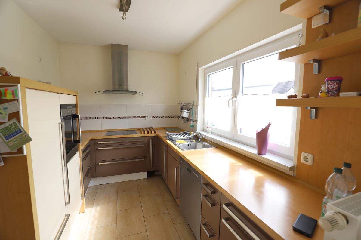 Küche mit Blick zum Eingang