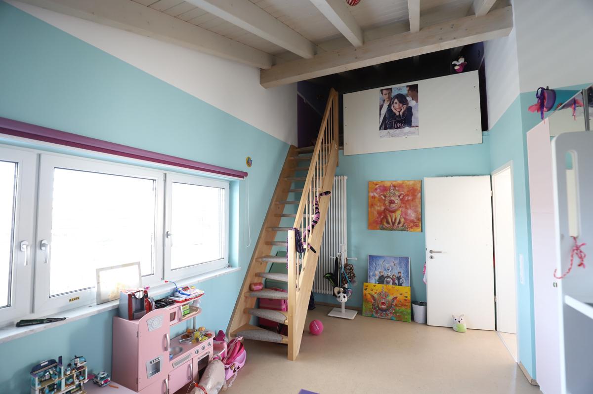 Kinderzimmer mit Galerie