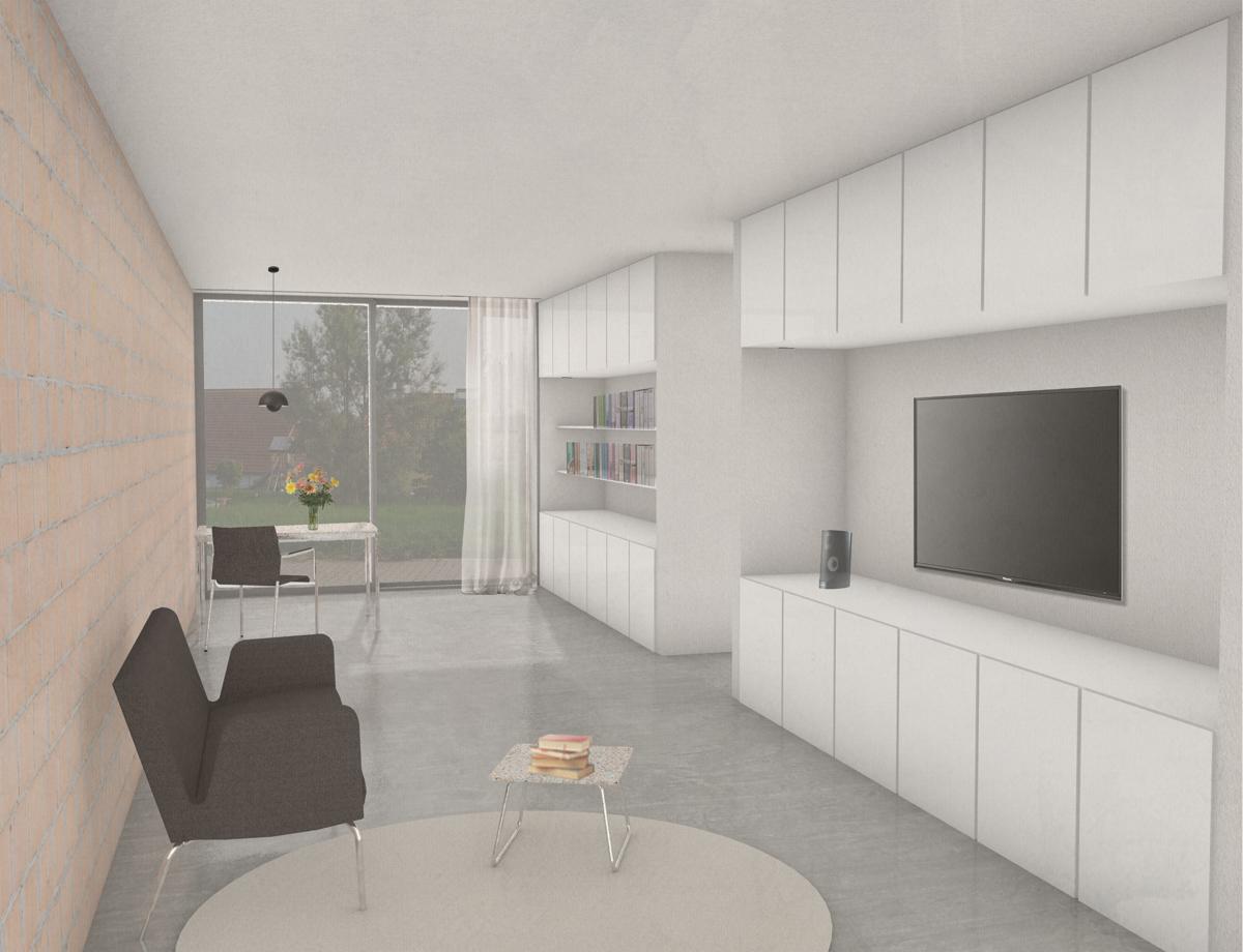 mögliche Wohnzimmer Ansicht