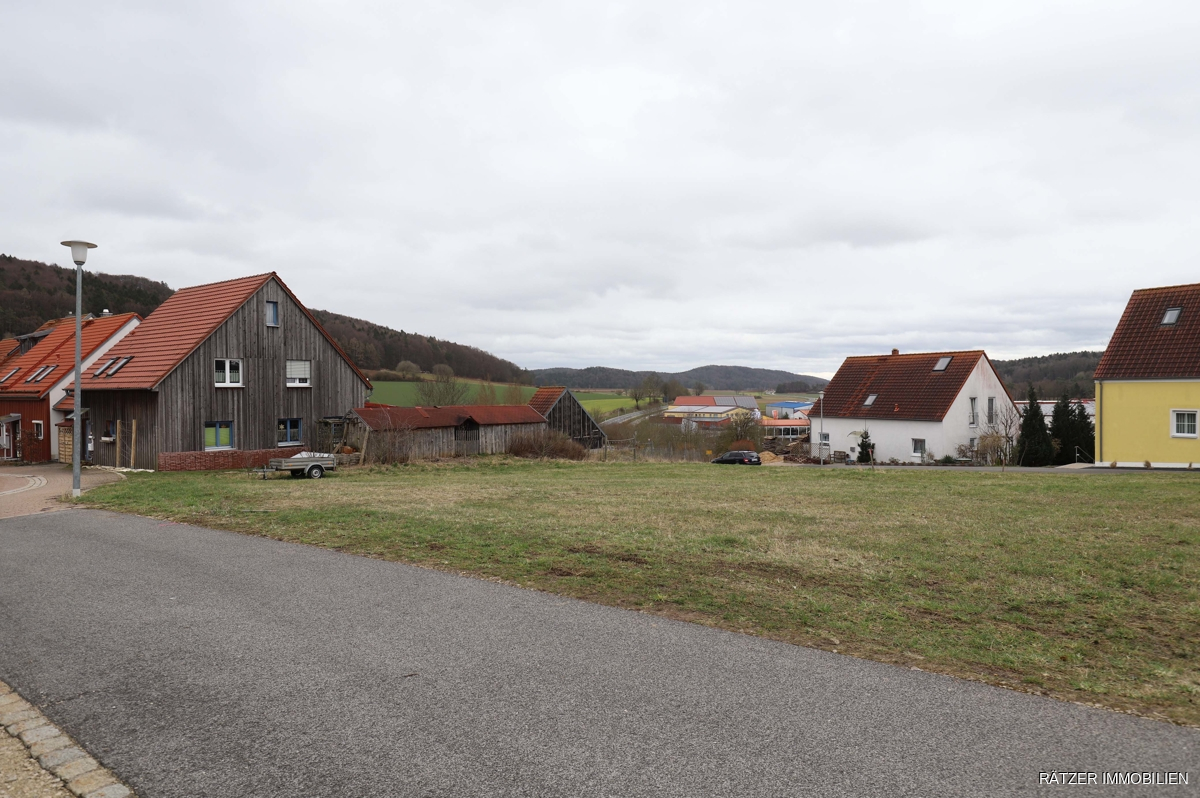 Grundstück Nord-West Ansicht