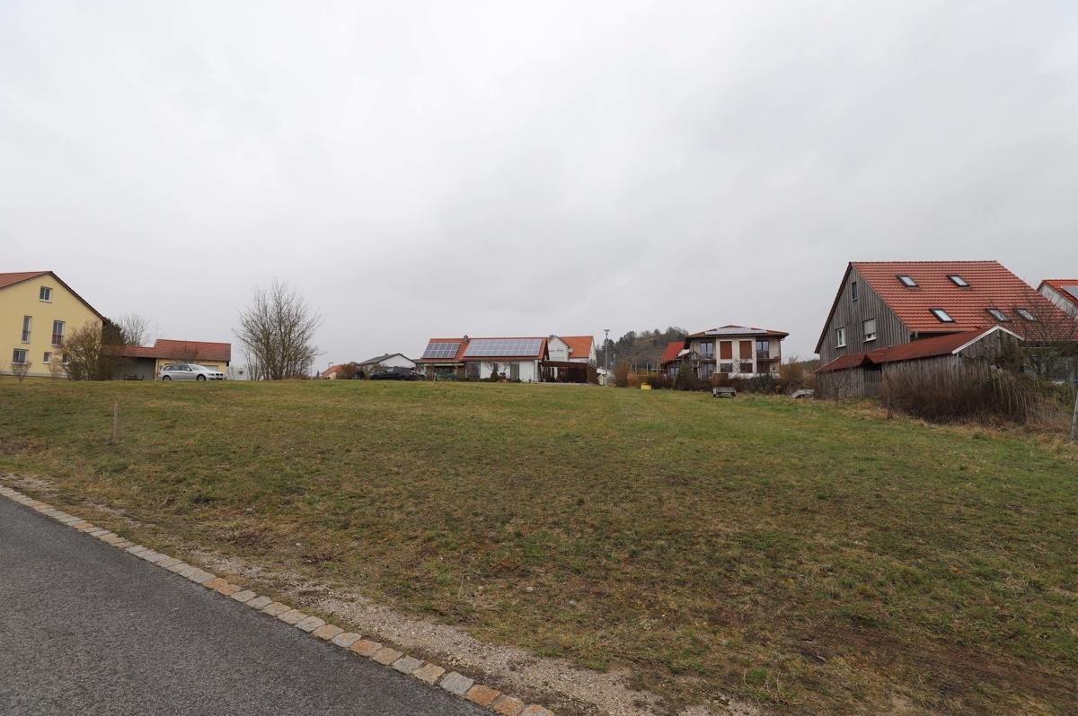 Grundstück Süd-Ost Ansicht