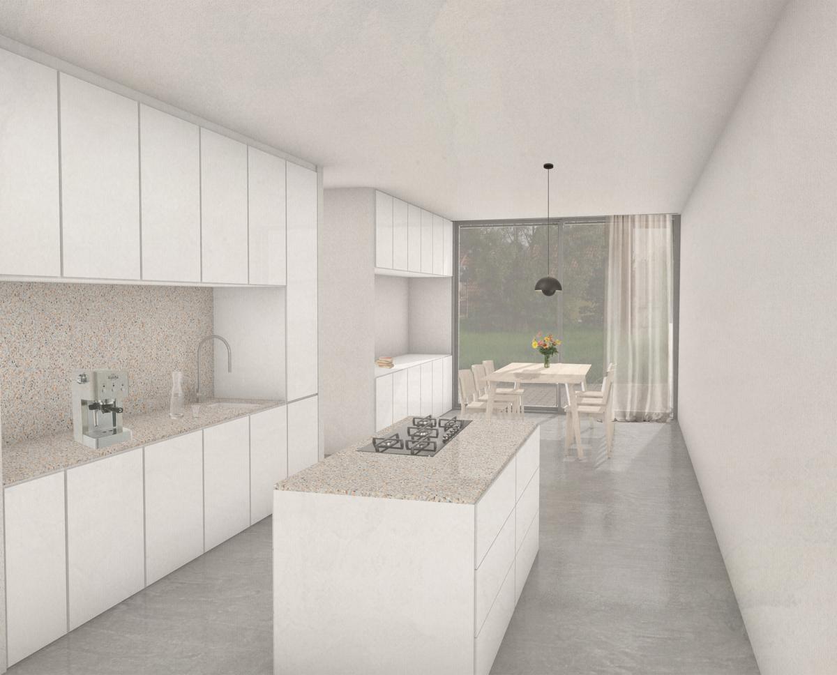 mögliche Küchen Ansicht