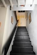 Steintreppe mit Schieferbelag