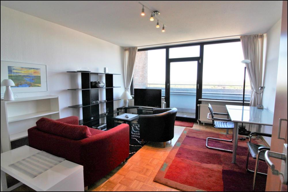 Möbliertes 1-Zimmer-Apartment in zentraler Lage von Düsseldorf Golzheim