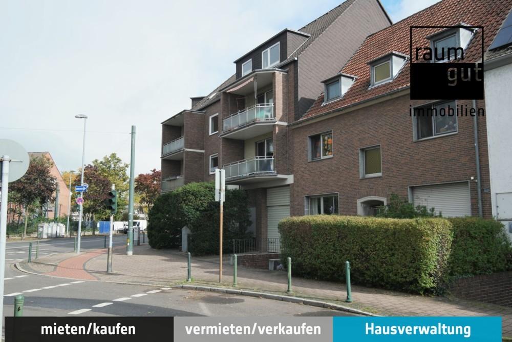 Schöne 3-Zimmer-Dachgeschosswohnung in zentraler Lage von D-Unterrath