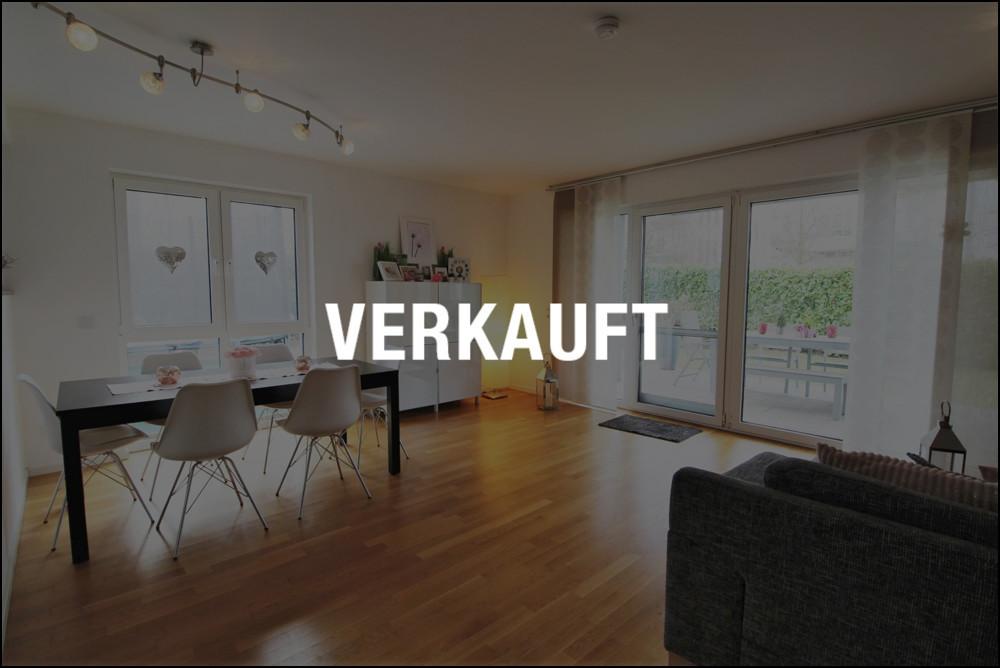 Moderne 3-Zimmer-Erdgeschosswohnung in D-Wittlaer mit eigenem Garten