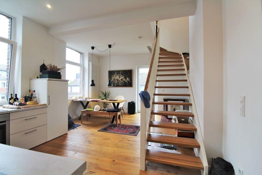Maisonette mit Charme - Stilvolle 2 Zimmer Wohnung in Düsseldorf Flingern