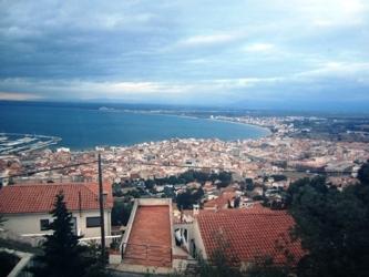 Blick über die Bucht von Rosés