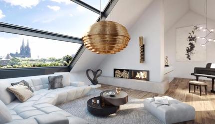 1 Penthouse Wohnbereich 2.DG