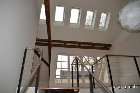 Blick in den Wohnbereich 3.Ebene