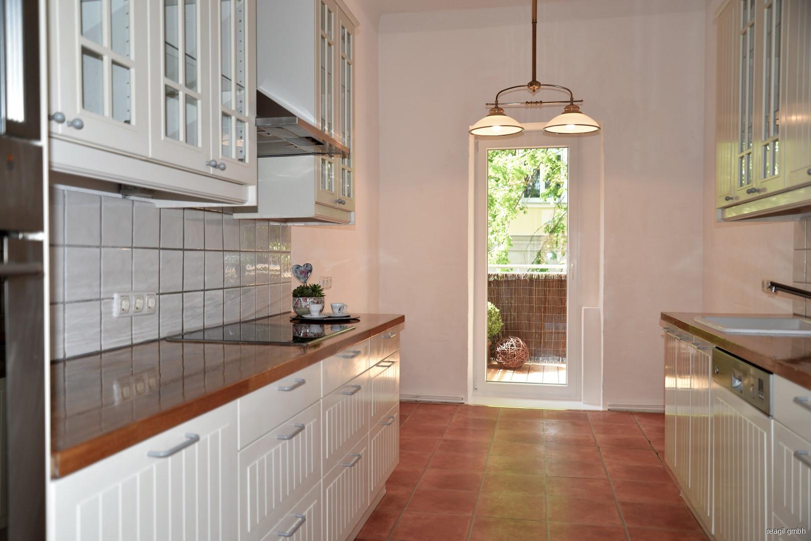 Küche zu Balkon