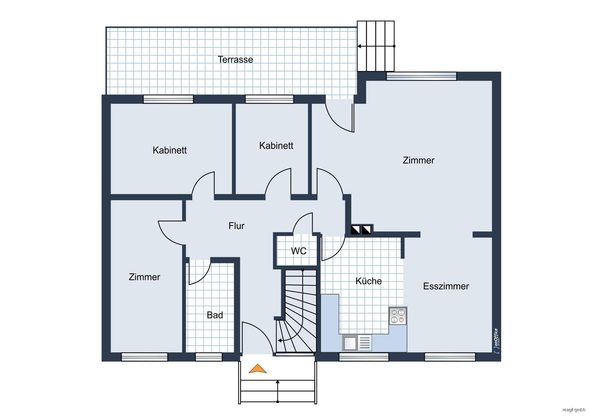 Hausplan EG