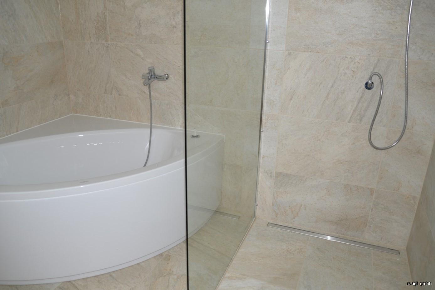 Badewanne u.Dusche