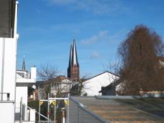 Blick zur Johanneskirche