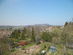 Blick zum Ölberg und Schönberg