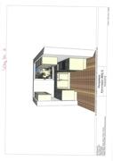 Küchenansicht Grundriss Whg. Nr. 2 002