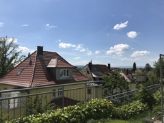 Blick von Terrasse nach West