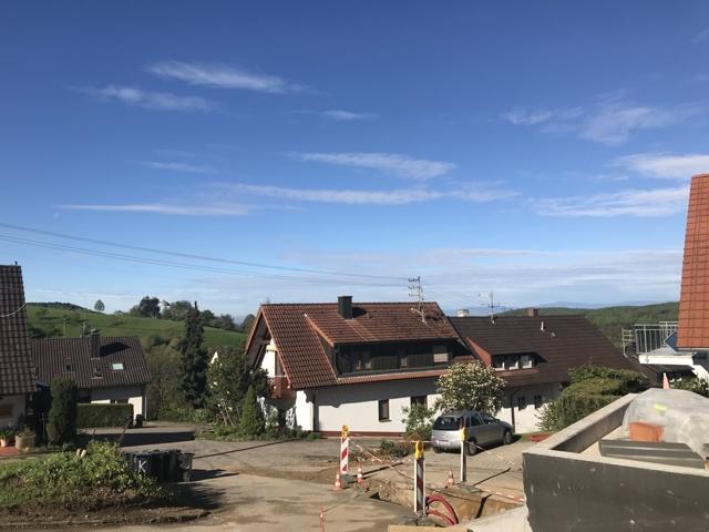 Blick von Terrasse nach Südwest