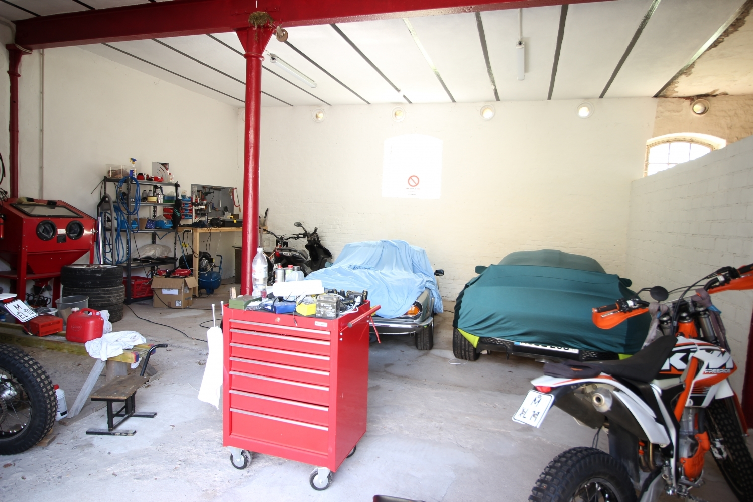 Garage (optional anmietbar)