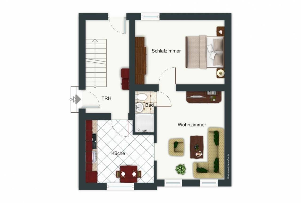 Grundriss EG-Wohnung