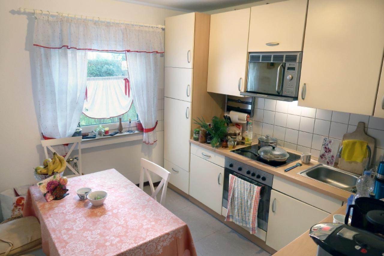 helle Küchenbereich