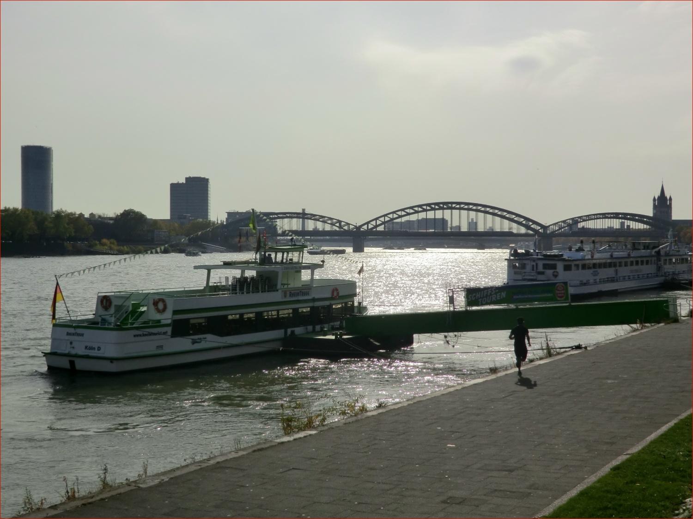 2 Minuten bis zum Rhein!