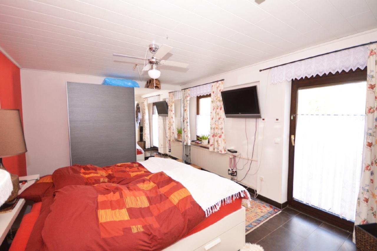 Schlafzimmer EG-Wohnung