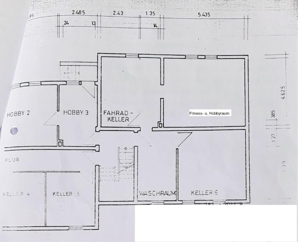 Grundriss - Kellergeschoss