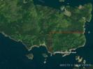 Luftbild markiertes Grundstück